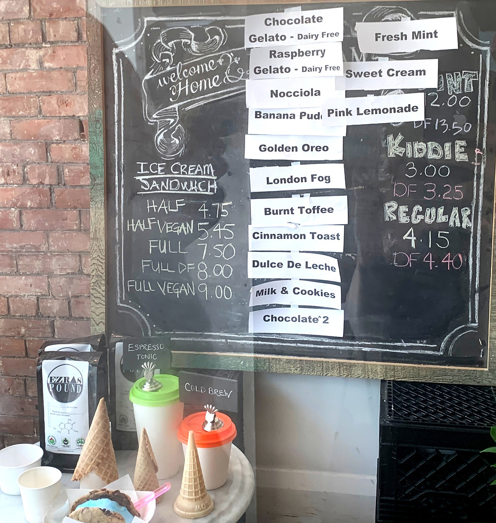Home Baking Co Bang Bang ice cream prices