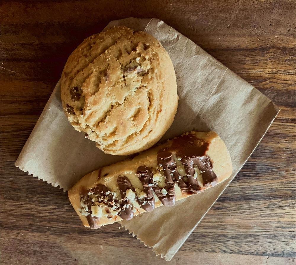 ZAZA Espresso Bar Toronto biscotti and cookies tasty baked goods