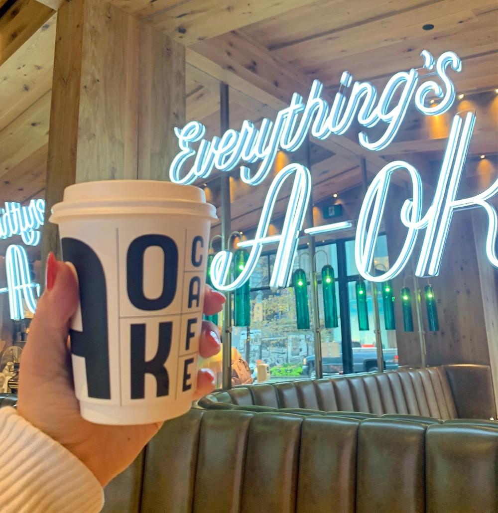 A-OK Cafe Seasonal Latte Fall 2020 Best in Toronto Coffee List