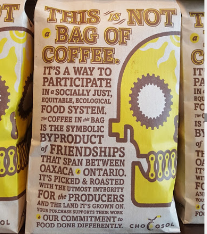 ChocoSol sustainable coffee beans