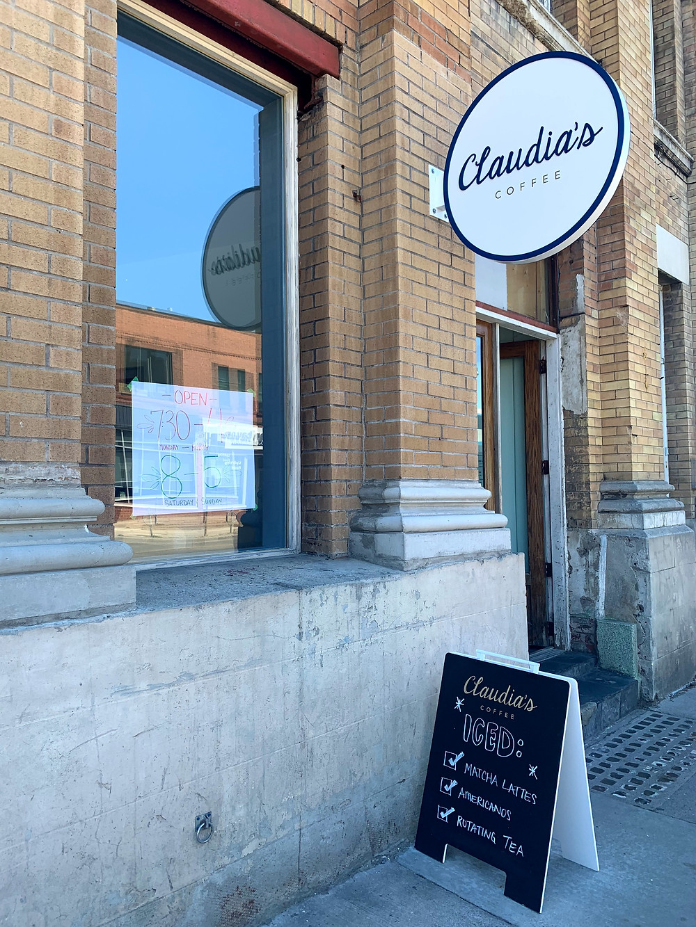 Claudia's Coffee in the Junction Triangle formerly Crema Cafe