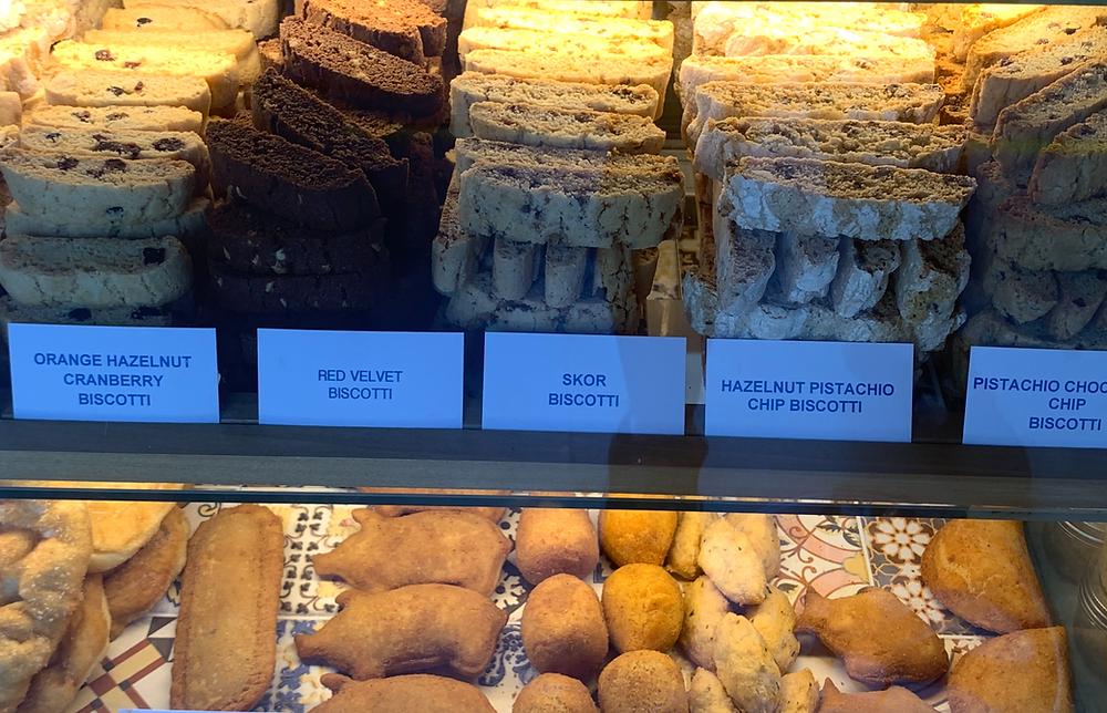 Gaspar Cafe baked goods
