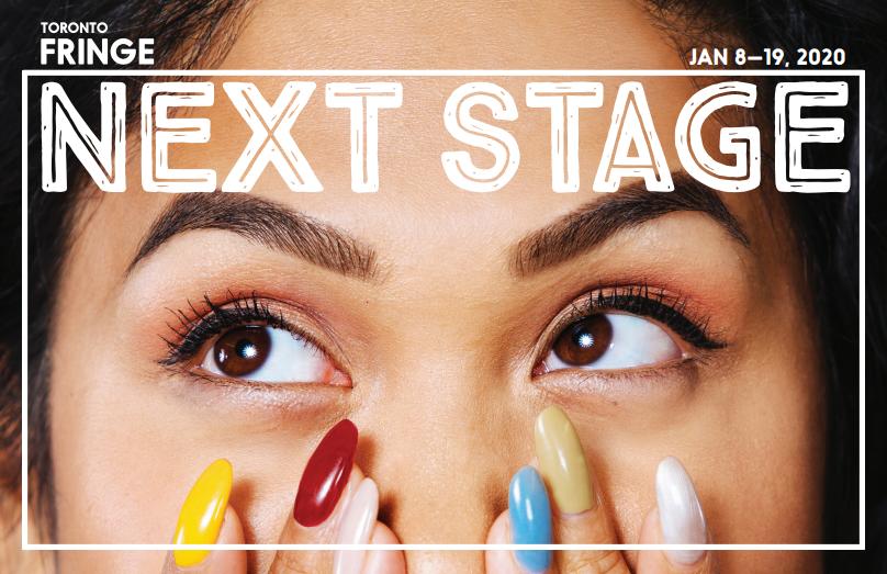 Toronto Fringe Next Stage Festival theatre program