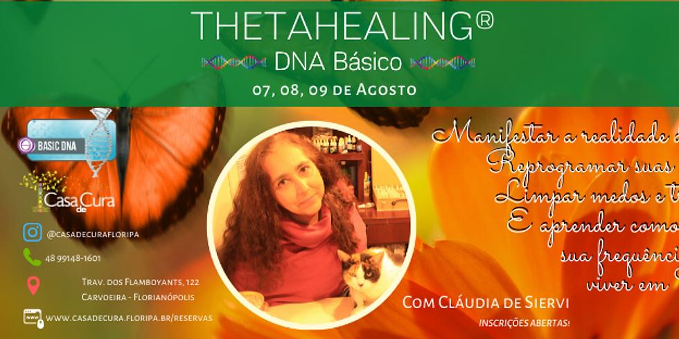 ThetaHealing® DNA Básico com Cláudia de Siervi