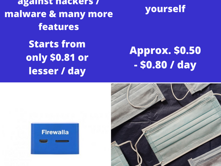 Firewalla VS Mask