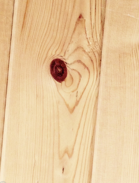 Heart of wood. Found while I was at an Airbnb in Berkeley and feeling kind of alone. I was closing my eyes to go to sleep and then I saw this on the ceiling of my cabin-like house.