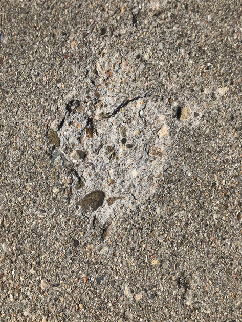 Heart of cement.