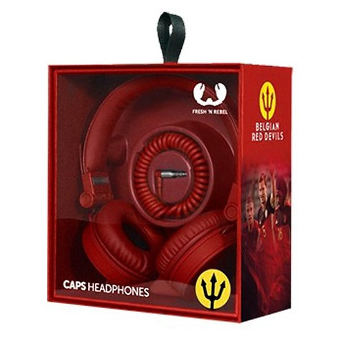Red Devils On Ear Headphone