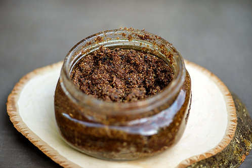 8oz Black Sea salt body scrub