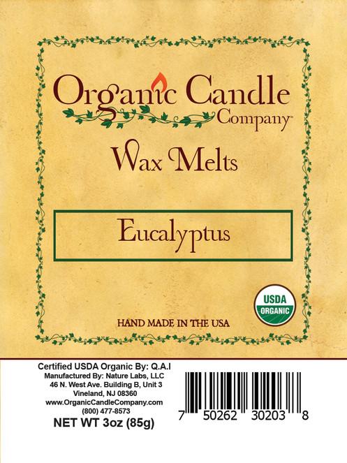Eucalyptus Organic Wax Melt