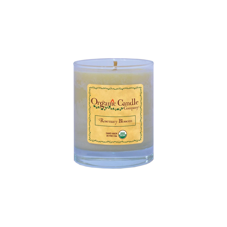 Rosemary Blossom Organic Candle