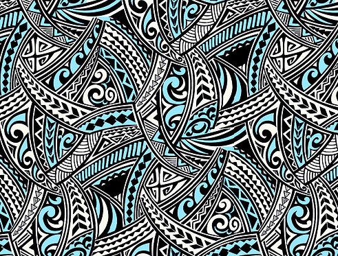 KI-07#4 Black Turquoise