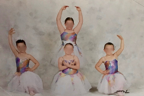 SMALL GROUP- Rainbow Bodysuit with Twirly ends