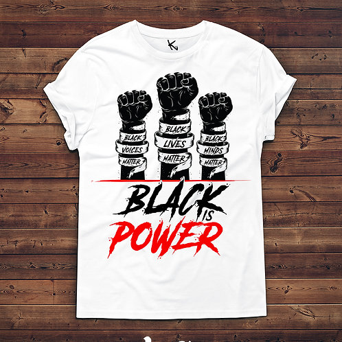 BLACK IS POWER