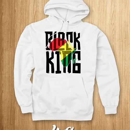 BLACK KING (MOTHERLAND) HOODIE