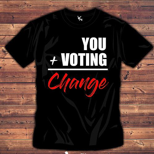 VOTE = CHANGE (MEN)
