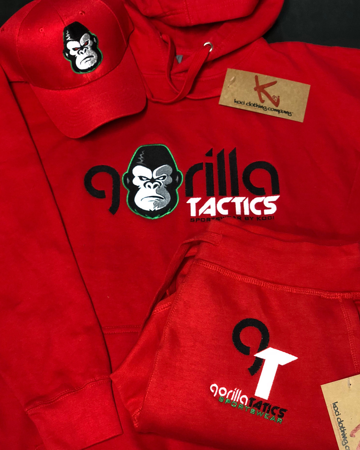FULL GORILLA TACTICS SWEAT SUITS