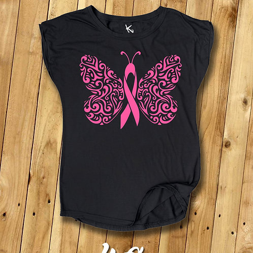 "F*** CANCER ""Butterfly I"""