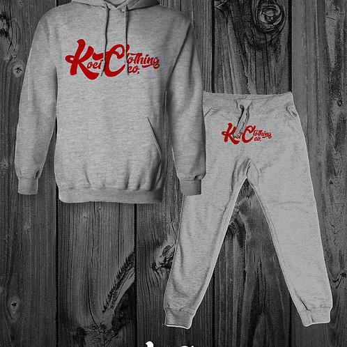 KOCI CLOTHING (COLA LOGO) SWEAT SUIT