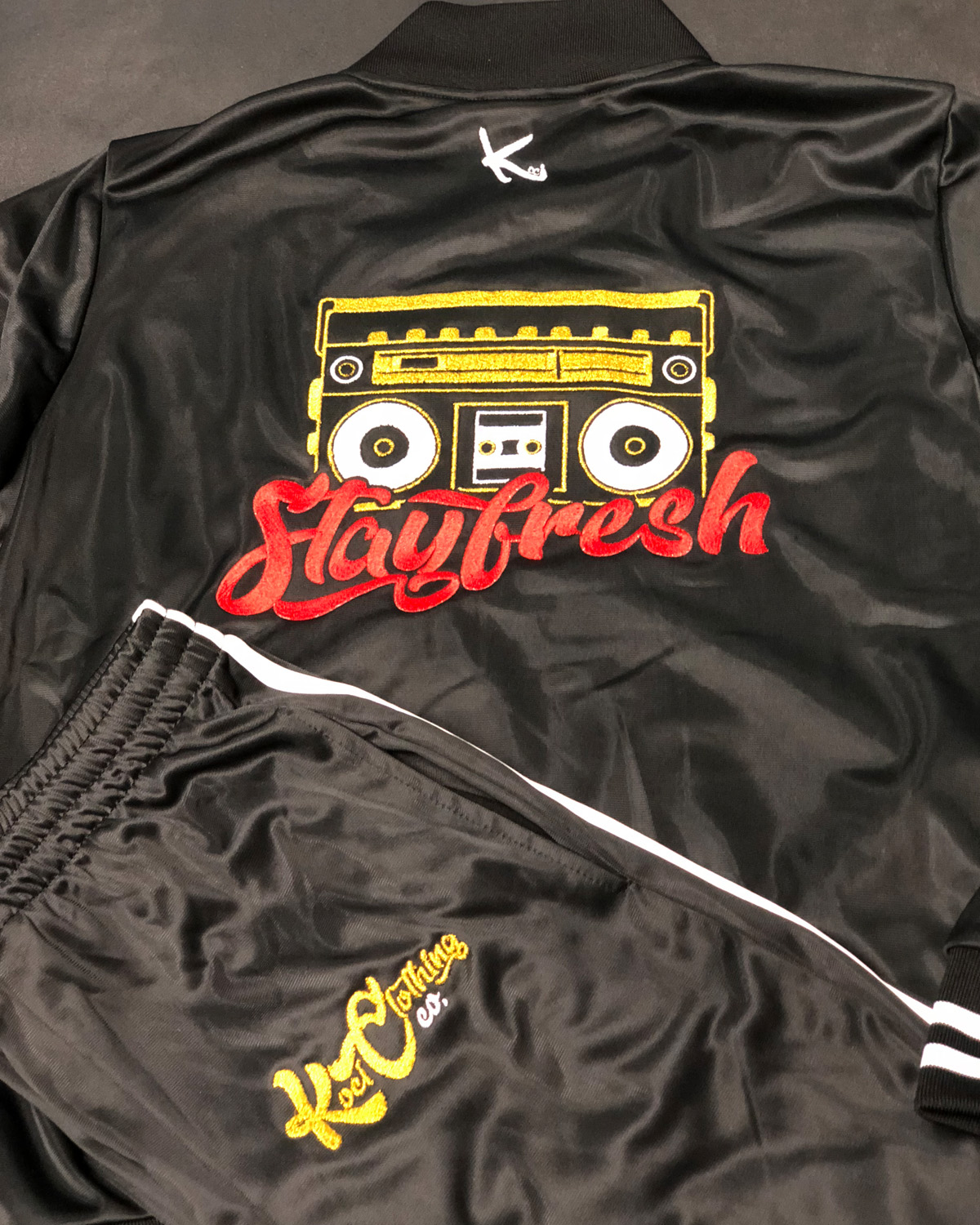 STAY FRESH CUSTOM TRAX SUITS