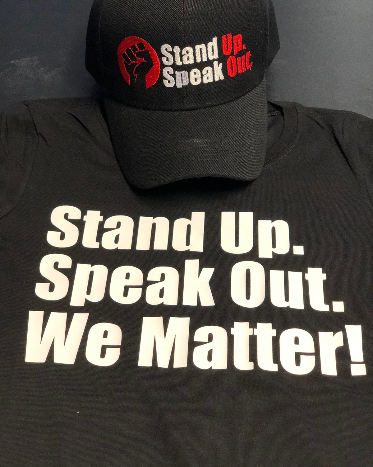STAND UP. SPEAK UP.