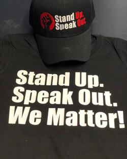 STAND UP. SPEAK UP.