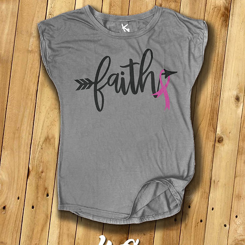 "F*** CANCER TEE ""Faith"""