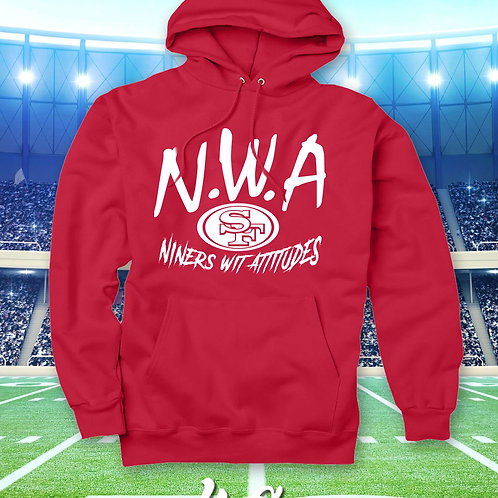 N.W.A - NINERS WIT ATTITUDES