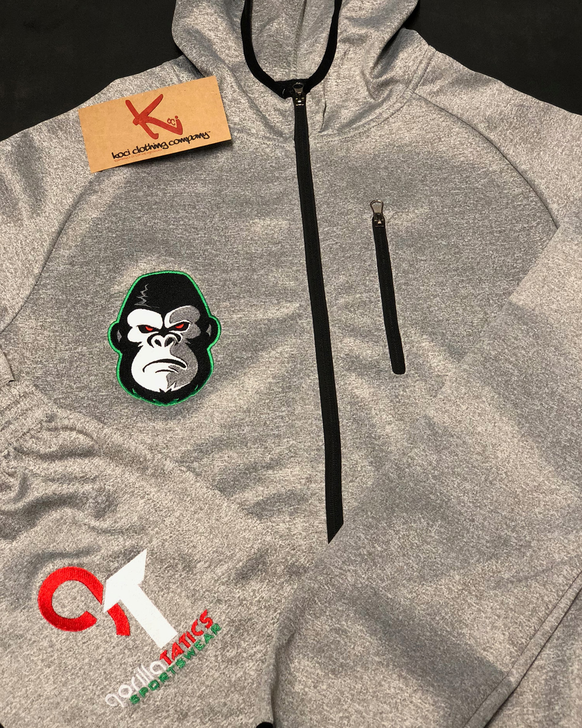 GORILLA TACTICS SWEAT SUIT
