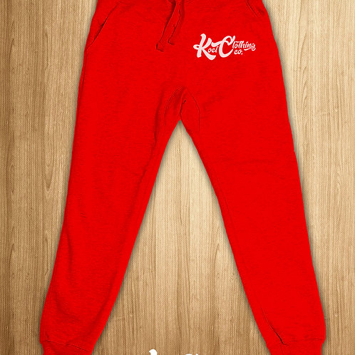 KOCI JOGGER SWEATS - RED