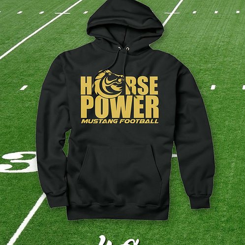 MUSTANG HORSEPOWER HOODIES