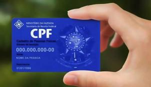 Projeto que torna CPF único número de identificação é aprovado no Senado