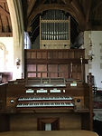 St Stephen's, Kingston Lacy - the organ
