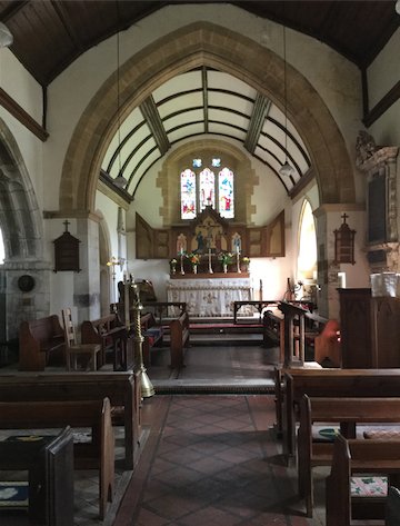 St Barts interior