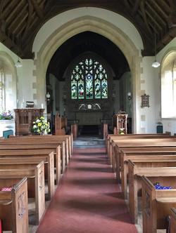 St Stephens interior