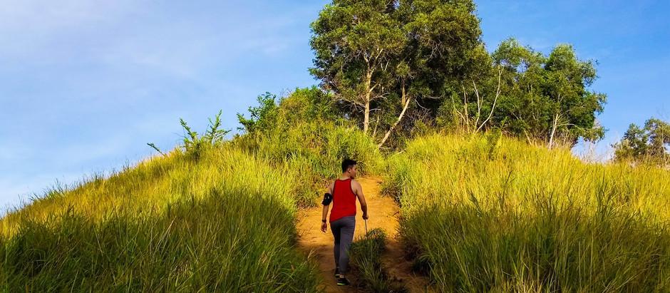 Hiking at Bukit Botak, Sepanggar Sabah.