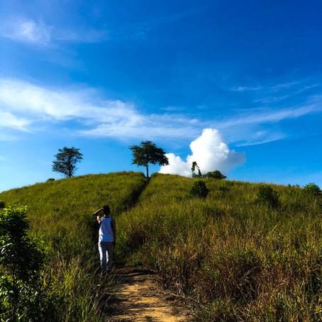 Hiking at Bukit Tirig, Sepanggar Kota Kinabalu Sabah