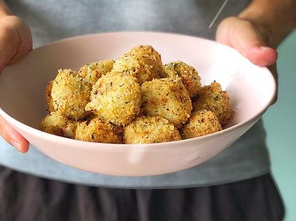 Fried Potatoes Ball Night Market