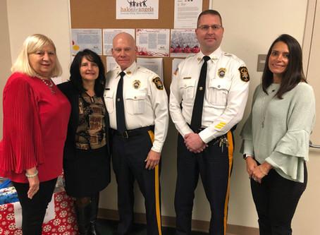 Morris County's Sheriff Dept helps HFA