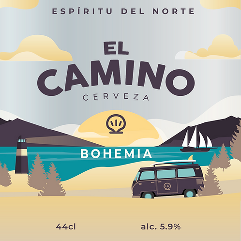 4 x Cerveza El Camino BOHEMIA India Pale Pilsner