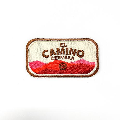 Etiqueta bordada El Camino Cerveza