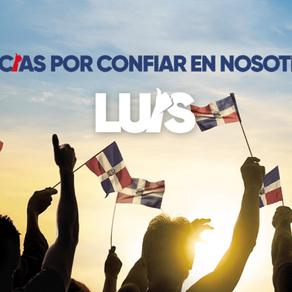 """Luis Abinader llega """"a servir y trabajar por un país que podamos sentirnos orgullosos"""""""