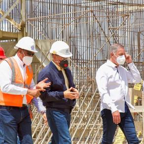 Danilo Medina realiza Visita Sorpresa a presa Monte Grande