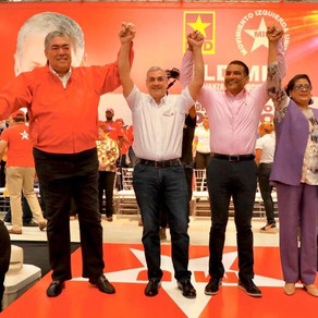 Proclaman a Gonzalo Castillo, candidato presidencial del Movimiento Izquierda Unida