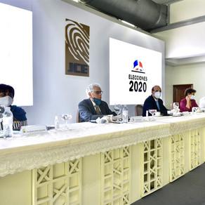 JCE y Comisión de Acompañamiento sostienen reunión sobre elecciones de julio