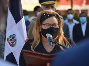 Gobernadora Grey Pérez afirma: Azua  no dejará morir la memoria histórica de nuestros héroes
