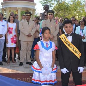 Gobernadora de Azua llama a la juventud a seguir el ejemplo de Juan Pablo Duarte