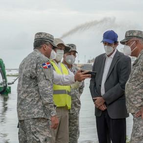 Montalvo anuncia adquisición de draga multipropósito para limpieza del cauce de ríos y puertos