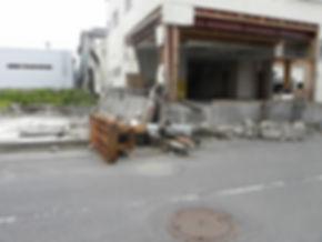 重量の工作機も津波で流された