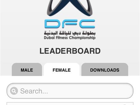 Dubai Fitness Championship: dag 1